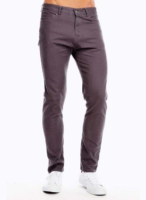 Men's Charcoal Grey Slim Fit Jeans