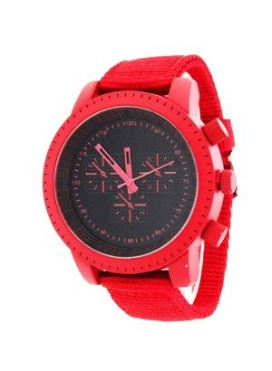 Red Trendy Unisex Watch