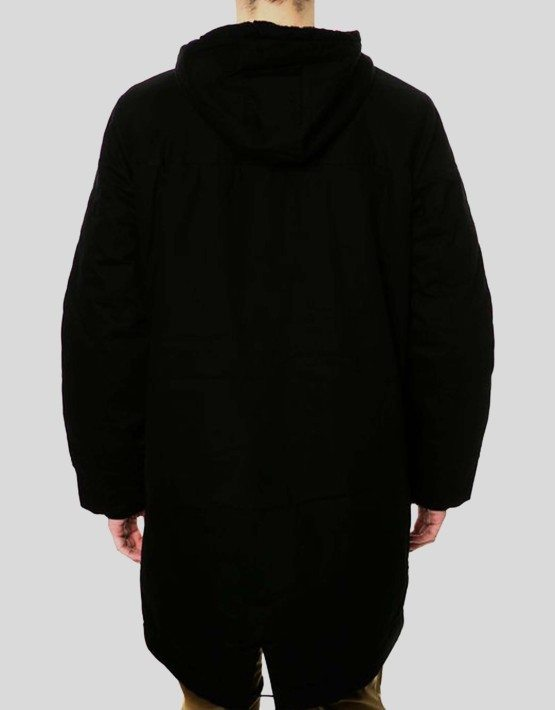 WeSC BLACK BENGTH PARKA JACKET