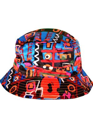 Black Aztec Bucket Hat