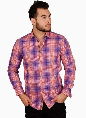 CESARI Checked Jacquard Shirt