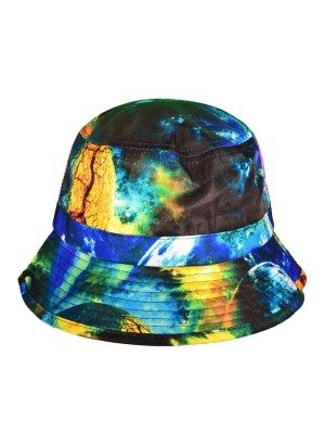 Green Galaxy Bucket Hat