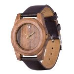 Lady Rosewood Crystal Wooden Watch