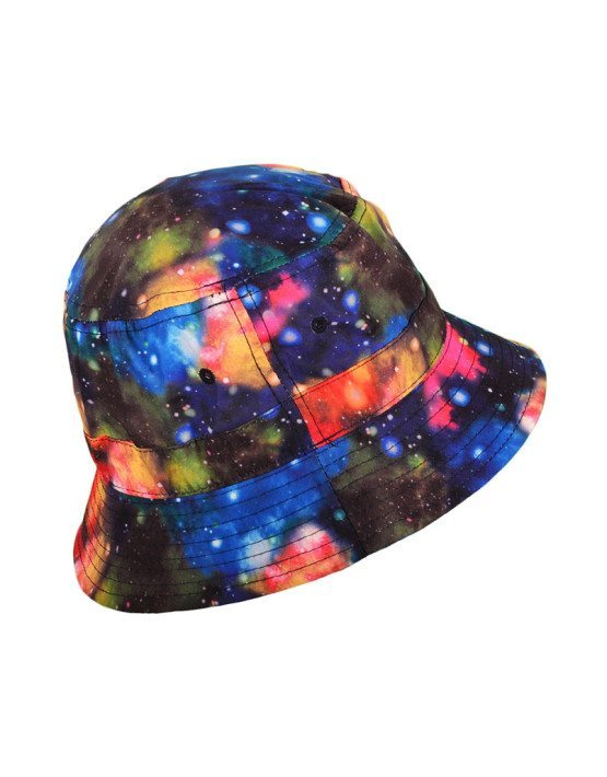 Multicolor Galaxy Bucket Hat