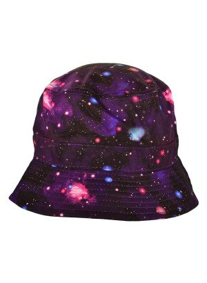 Purple Galaxy Bucket Hat