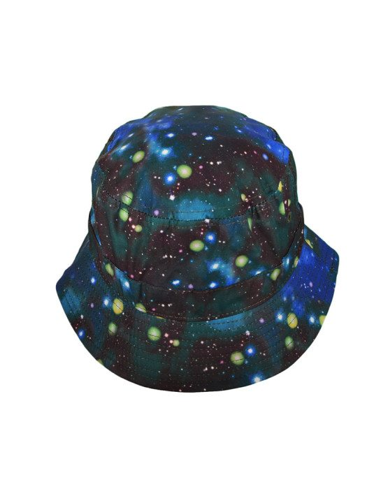 Turquoise Galaxy Bucket Hat