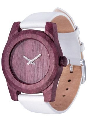 Lady Amaranth Wooden Watch