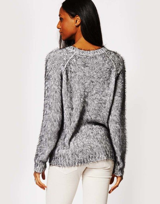 Soft Fuzzy Sweater
