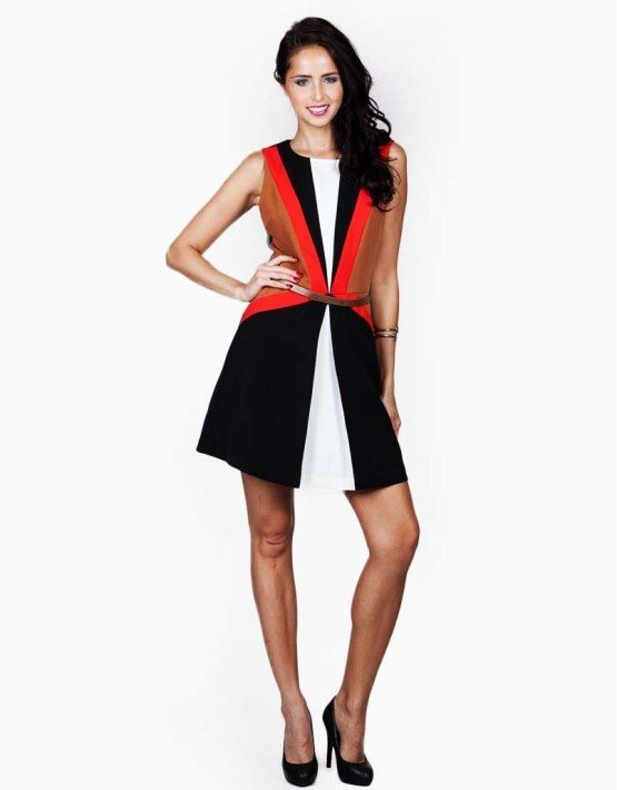 Ark & Co. Color Block Dress