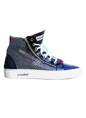 Baccaro 330 Collection Zip Hi Donna Sneaker