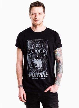 Norvine Black Mask Tee