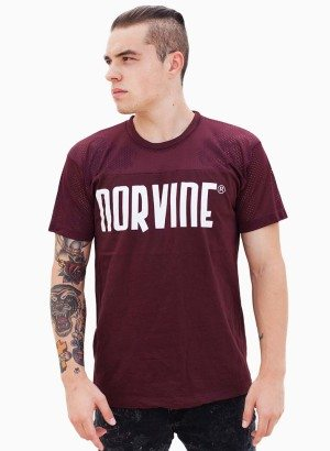 Norvine Truffle Athletic Contrast Tee