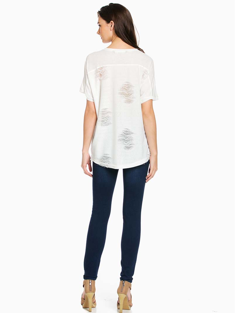 White Lucy Lu Top