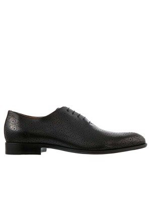 GERMANO BELLESI Saturnia Black Dress Shoe
