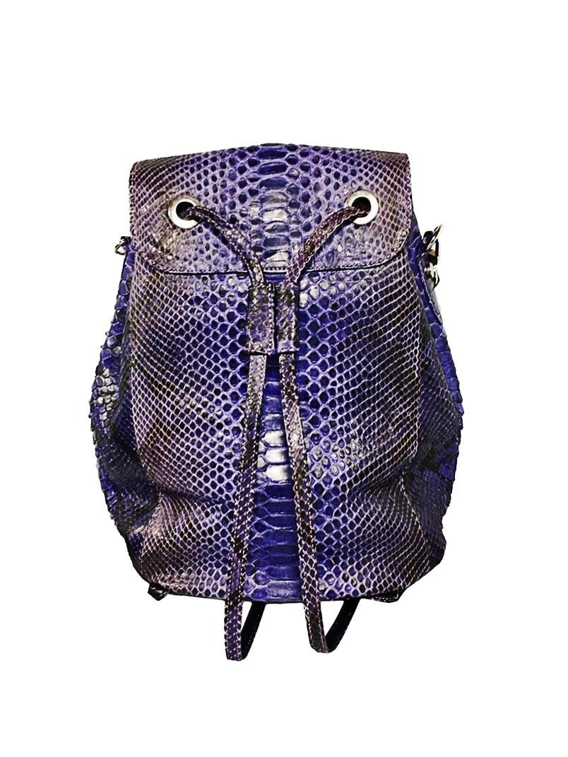 JAVIN Purple Soho Convertible Backpack