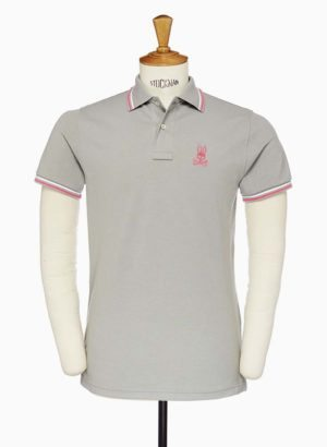 Light Grey Neon Bunny Polo