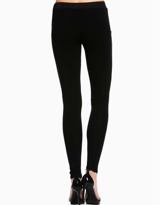 TOV Black Sparkle Leggings
