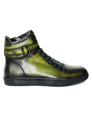 JUMP New York Sullivan Amazon Green High Top Sneaker