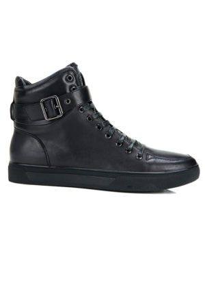 JUMP New York Sullivan Black High Top Sneaker