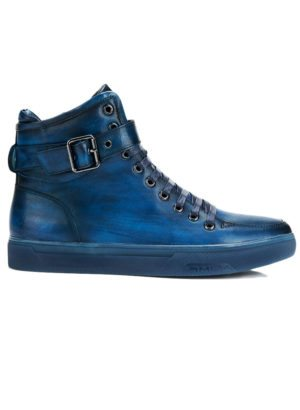 JUMP New York Sullivan Navy High Top Sneaker