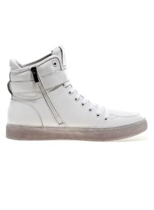 JUMP New York Sullivan White High Top Sneaker