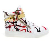 JUMP New York Zeus Womens White Black Red JP