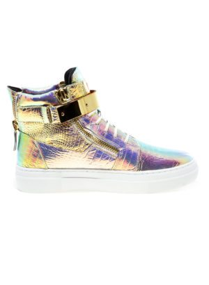 JUMP New York Zeus Womens Iridescent Sneaker