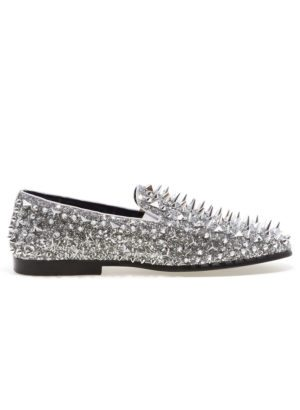 JUMP NEWYORK Lord Silver Spike Loafers