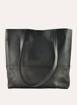 Kiko Leather Black Breezy Tote