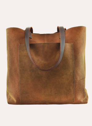 Kiko Leather Brown PCH Tote