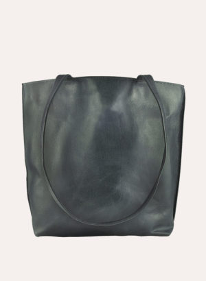 Kiko Leather Grey Everyday Tote