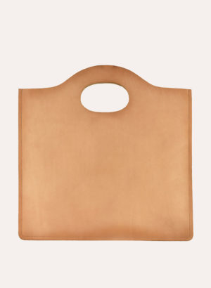Kiko Leather Natural Minimalist Tote