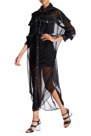 TOV Black Anjelic Shirtdress