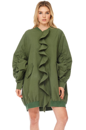 TOV Olive Larger Than Life Windbreaker