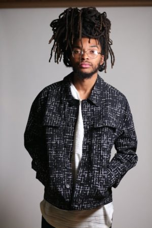 KDNK Black Oversize Trucker Jacket