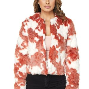Hot & Delicious Carolyn Faux Fur Coat