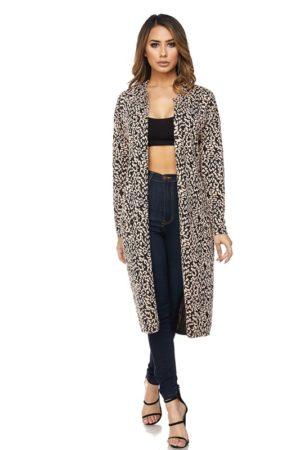 Hot & Delicious Harmony Leopard Print Cardigan