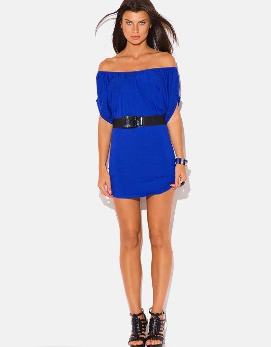 royal-blue-draped-dolman-sleeve-belted-fitted-party-mini-dress__7