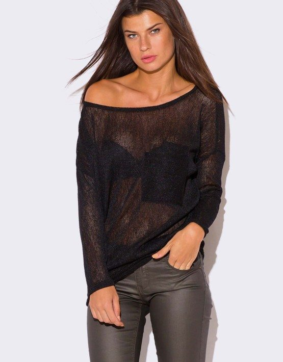 Batwing Top, Black Sheer Blouse, Black Wing Sleeve Blouse, Batwing Winter Blouse TT, Black Loose Blouse by TEYXO Teyxo. 5 out of 5 stars (3,) $ Bestseller Favorite Long Sleeve Black Sheer Blouse sz M/L HotelValentine. out of 5 stars () $ Favorite Add to See similar items.
