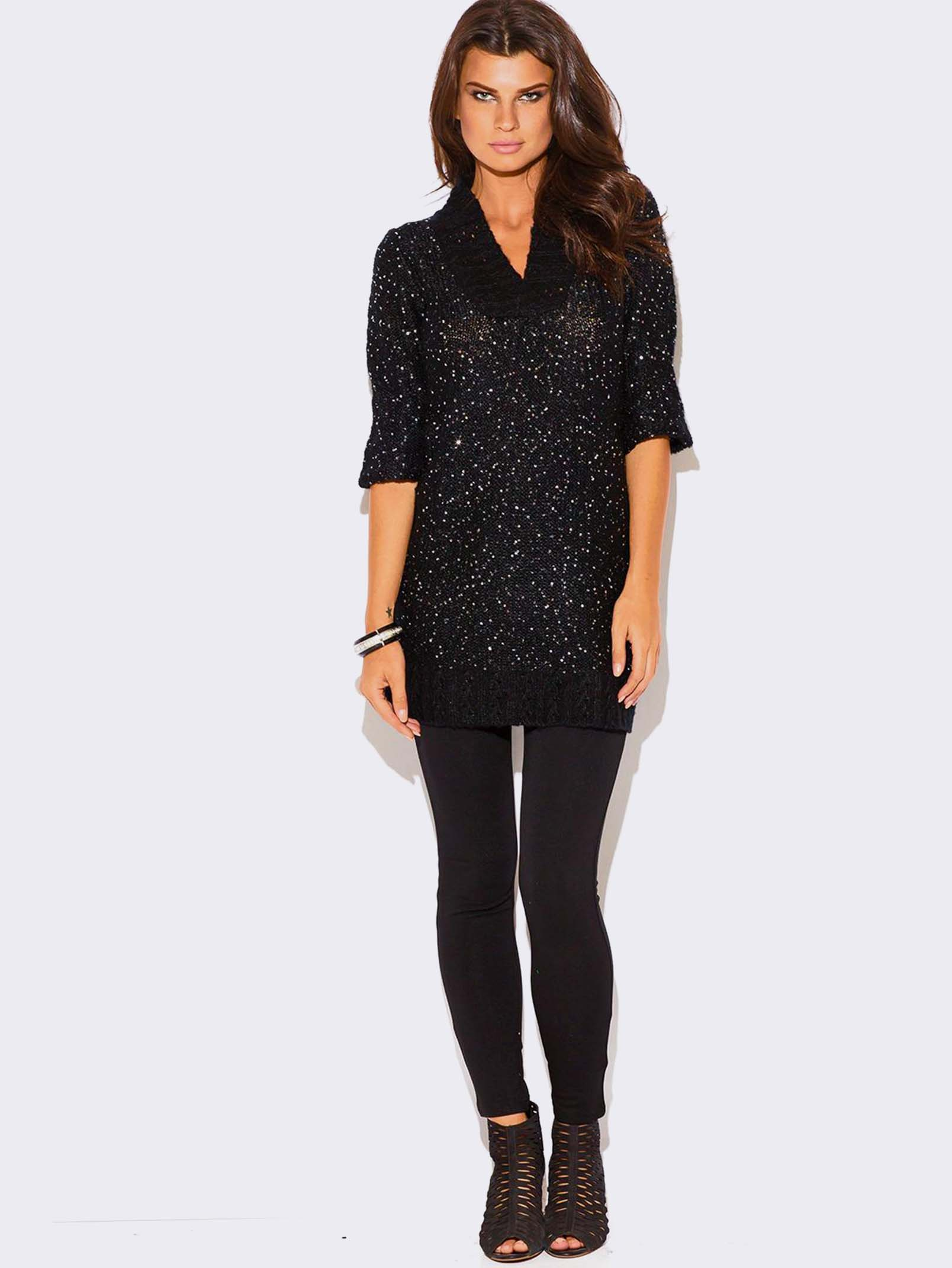 Find black sequin sweater at ShopStyle. Shop the latest collection of black sequin sweater from the most popular stores - all in one place.