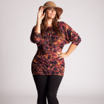 plus-size-model-tunic-top