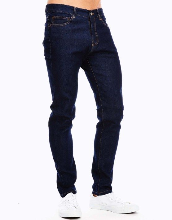 Men's Blue Denim Slim Fit Jeans