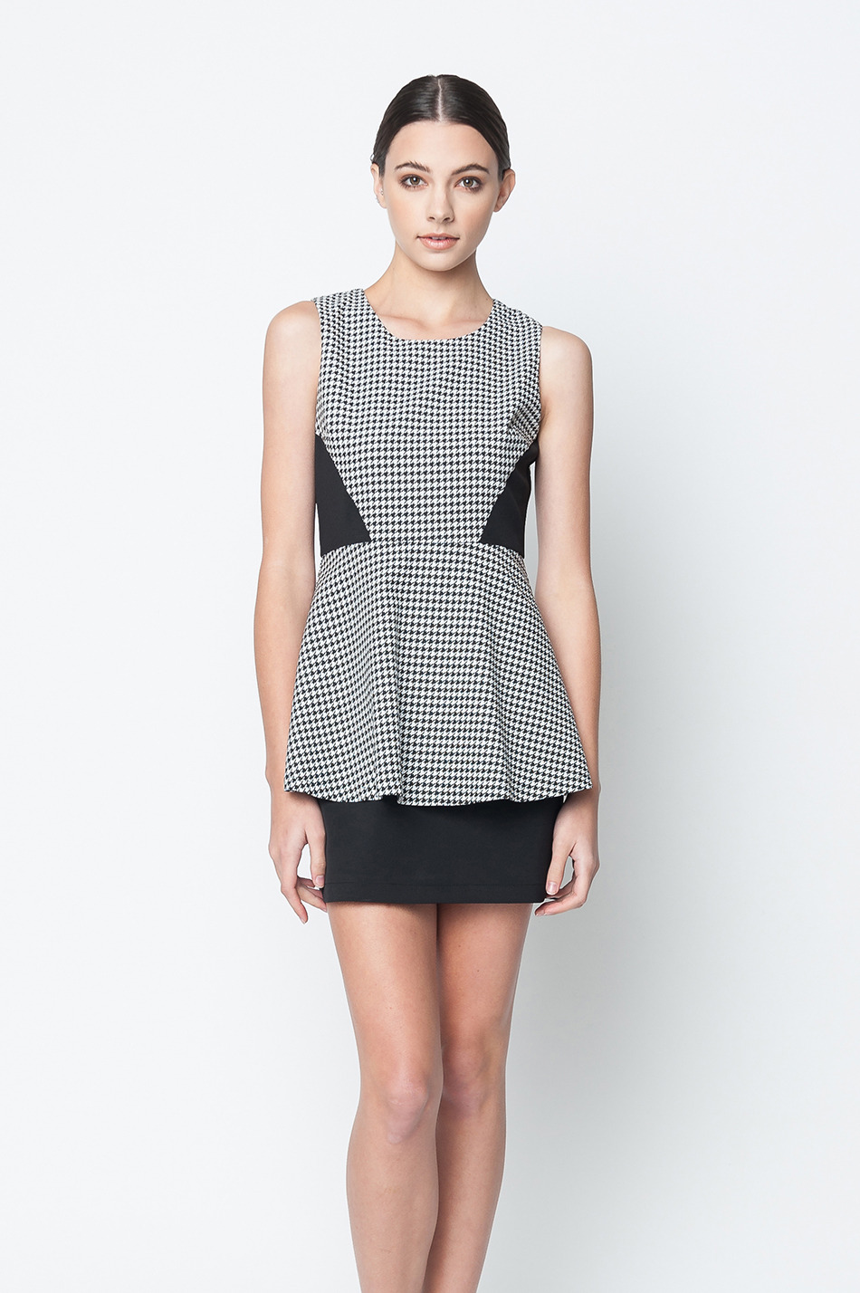 Buy the latest black houndstooth dress cheap shop fashion style with free shipping, and check out our daily updated new arrival black houndstooth dress at kejal-2191.tk