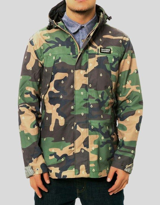 Waters & Army Mountain Parka Jacket