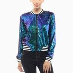 Iridescent Sequins Jacket