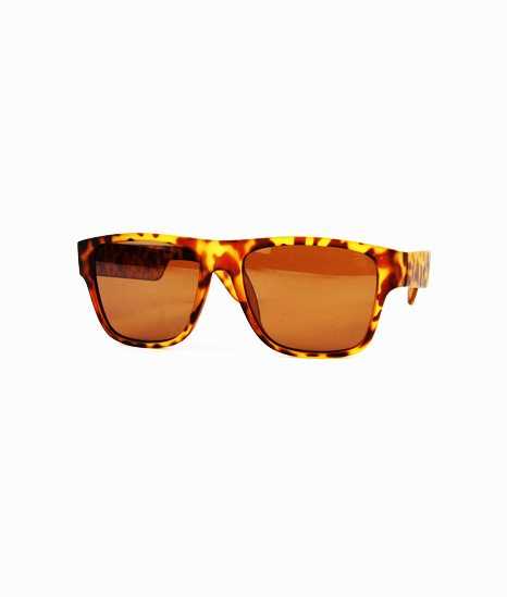 Tortoise Brown Lens Wayfarer Sunglasses