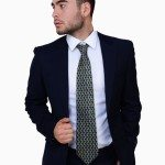 Navy Blue Two Button Suit