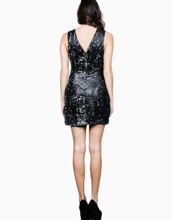 Ark & Co. Black Sequin Dress