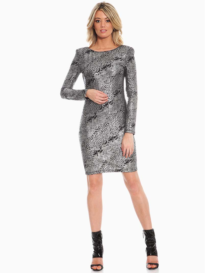 Silver Cocktail Dresses