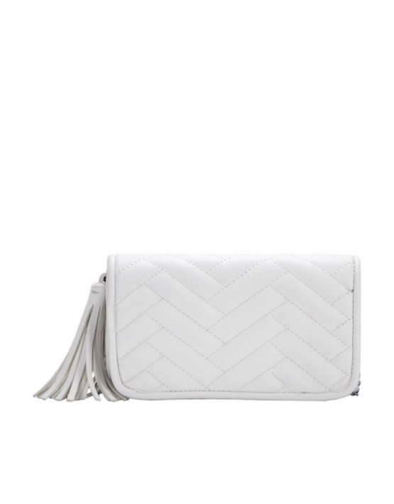 Madison West White Cross-Body Bag